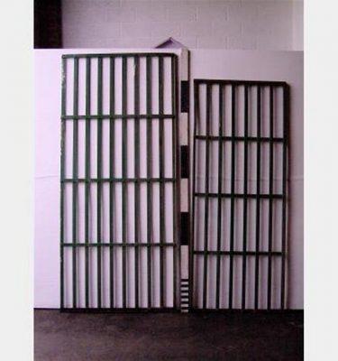 Flat Strap Iron Panels X4  870X2140