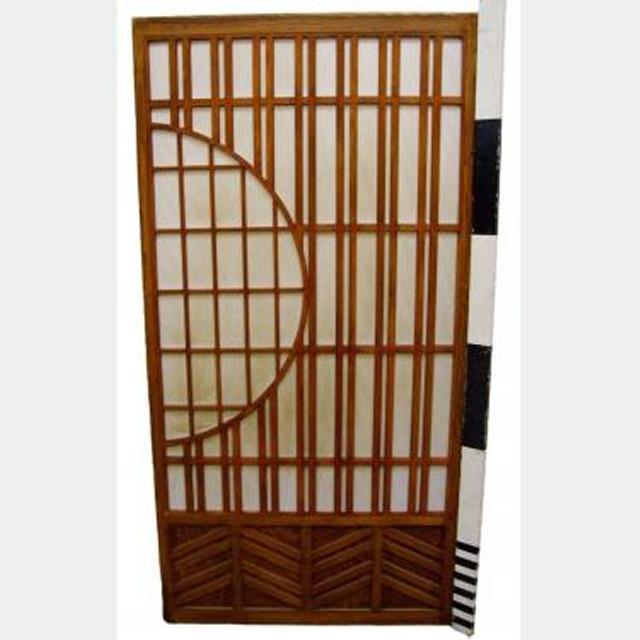 Sliding Doors With Half Moon Design X5 1800Hx920Mm