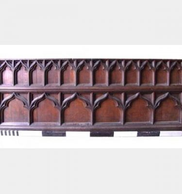 Oak Church Dado Rail Tri Fold Design 8'2X3'1_3'4 6 Panels