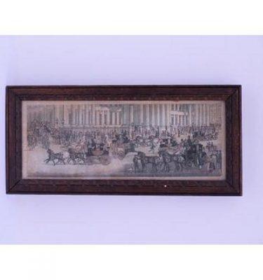 Print Royal Mail Oak Frame  360X170
