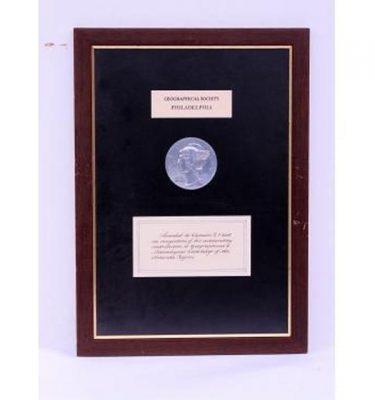 Geological Philadelphia 480X350 Plaque Cetificate