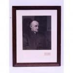Jj Carter Vicar Print B/W  570X460