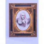 Black And Gilt Frame Mr Justice Archibald 490X580
