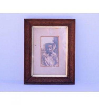 Oak Frame Boy B/W Photo 300X240