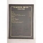 Barber Shop Price List