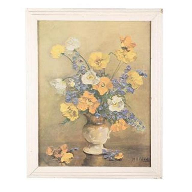Framed Picture Flowers 510X415