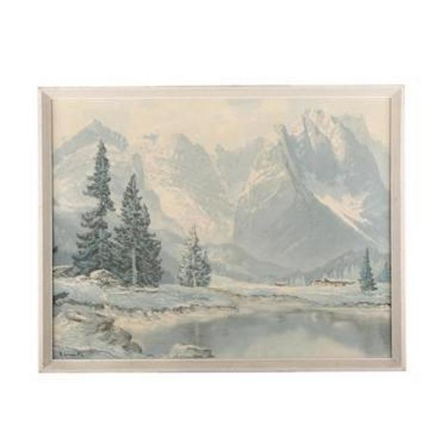Framed Picture Landscape 400X515