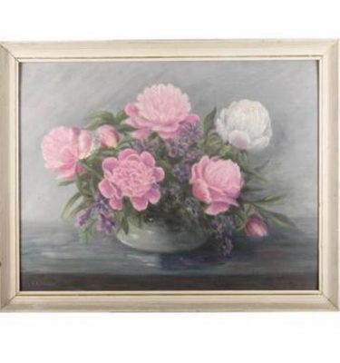 Framed Picture Flowers 460X590