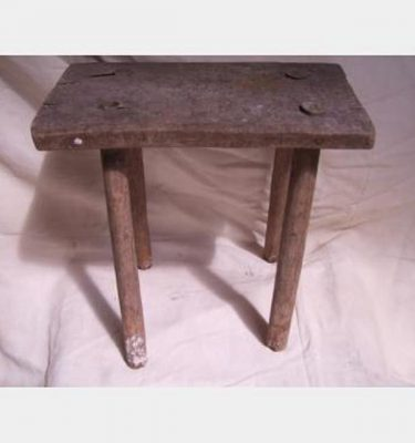 Simple Wooden Stool 310X310X190
