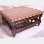 Kneeling Stool With Wooden Top 160X320X280