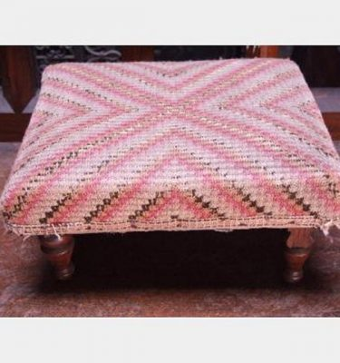 Kneeling Stool With Embroidery 160X330X310
