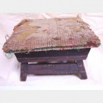 Kneeling Stool Very Worn Tapestry 200X300X300
