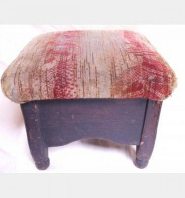 Kneeling Stool With Upholstered Cushion 280X350X350