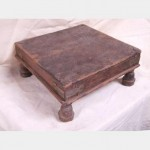 Simple Wooden Kneeling Stool 110X240X240