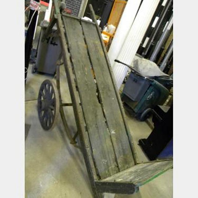 Very Long Sack Barrow Or Cart