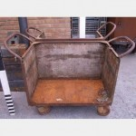 Steel And Wood Workers Trolley X3 1280X490X870Mm