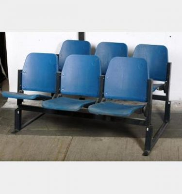 Blue Folding Stadium Seating With Stands X58 800X1375X380Mm