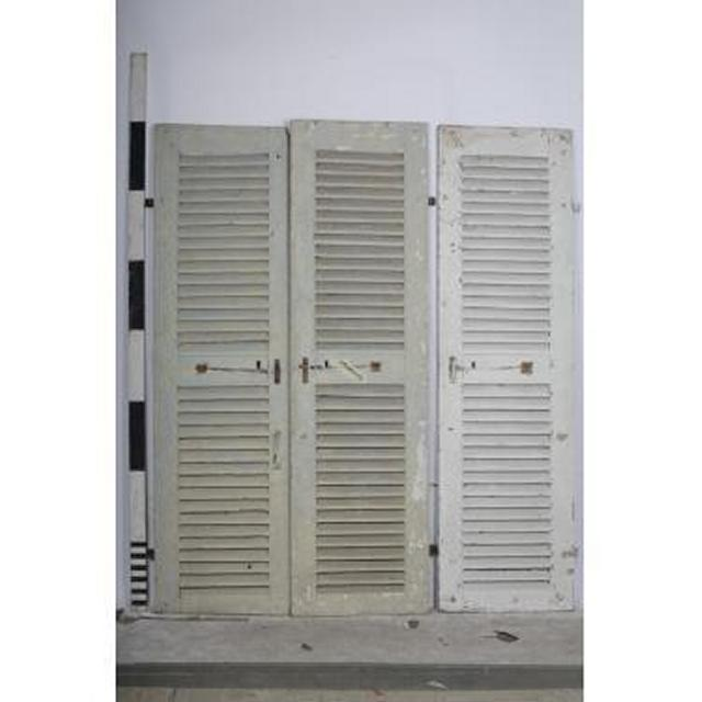 Shutters Pair Plus 1  2140X610 Each