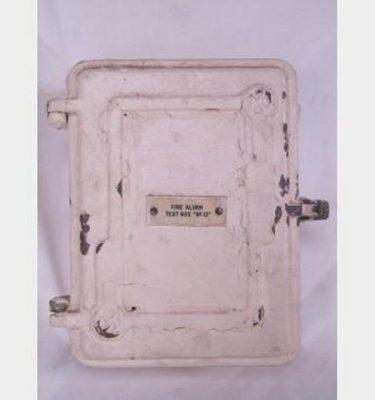 Period Fire Alarm Test Box Empty 210X280X100