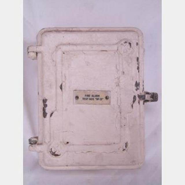 Period Fire Alarm Test Box Empty 210X280X100