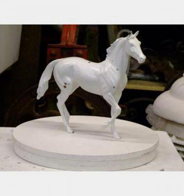Minature Plaster Horses X4