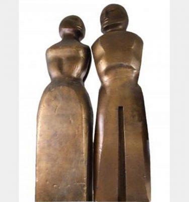 Henry Moore Sculpture 2440X590X380