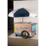 Ice Cream Vendor Trolley 920X1400X650