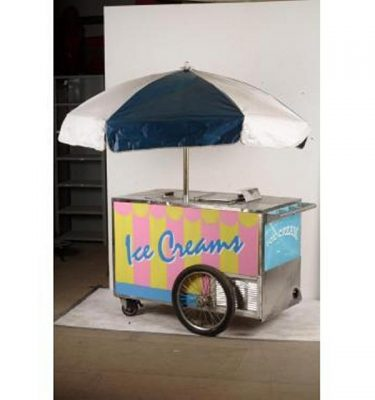 Ice Cream Vendor Trolley 920X1400X650