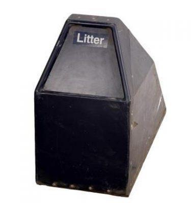 American Litter Bin X2 560X320X700Mm