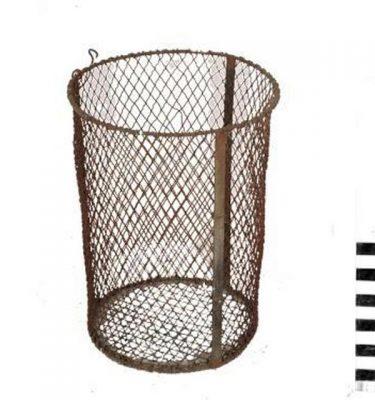 American Wire Wastebin 460X375D