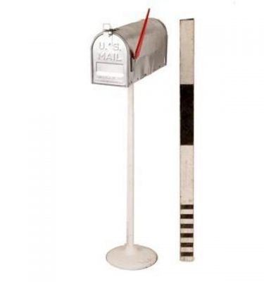 Mailbox Silver 1130X530Mm