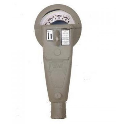 Moulded Parking Meter