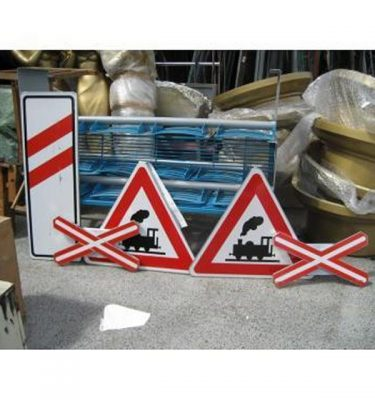 Railway Crossing Signs