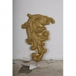 Theatrical Moulded  Cartouche Swirl Pvc