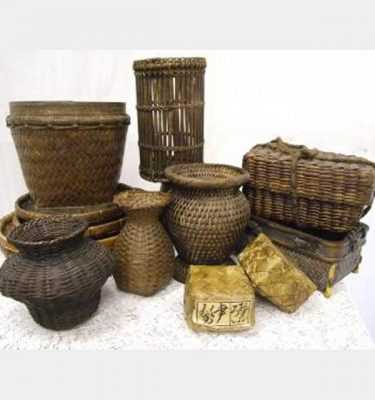 Assorted Wicker Baskets