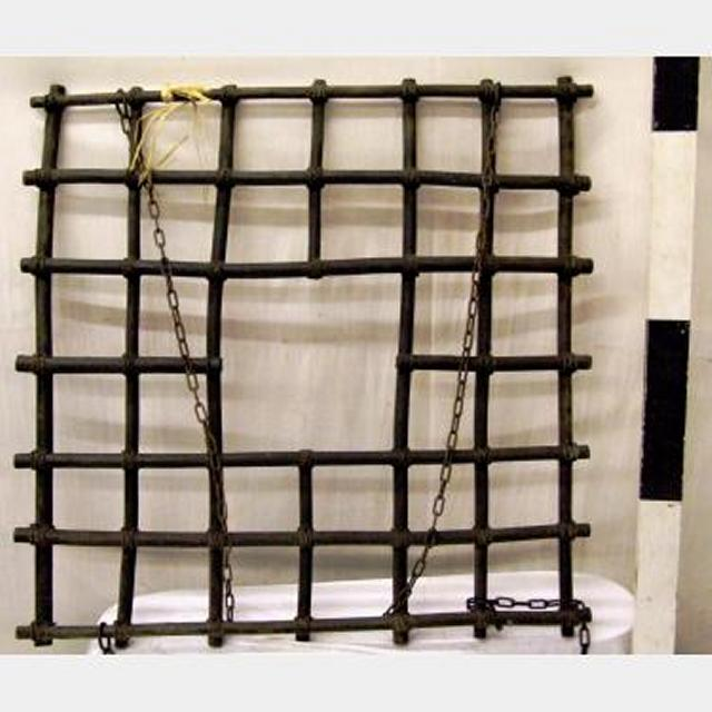 Bambo Drying Rack With Hanging Chains 1000X1000Mm