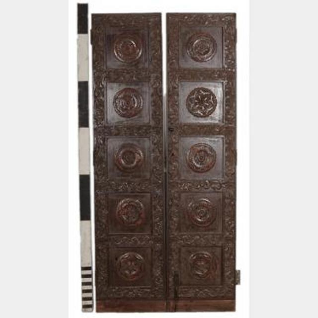 Ornate Doors 1 Pair 1970X930Mm