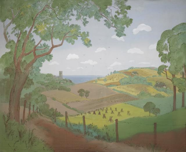 Backdrop 012 Rural Country Scene 16'X12'