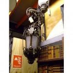 Scroll Lanterns On Scroll Brackets X 3