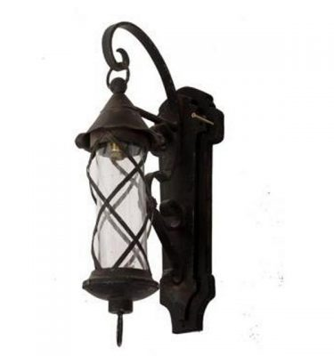 Ornate Wall Mounted Light 500X170X280