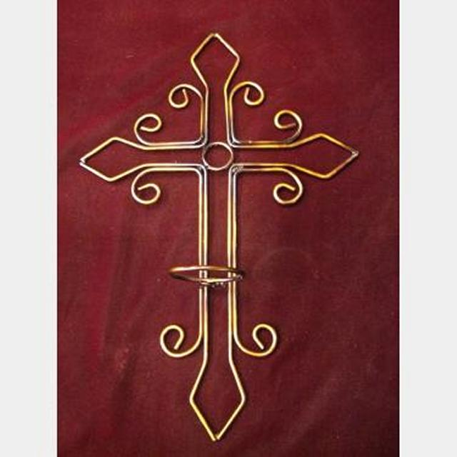 Hammered Copper Candle Holder X14 300X130X120