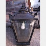 Windsor Head Wall Lantern X3   750X410Mm