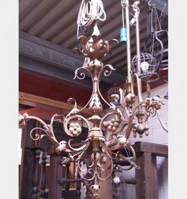 Intricate Electric Hanging Candelabra 1420X740X740