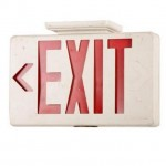 Emergency Exit Sign 210X310X55