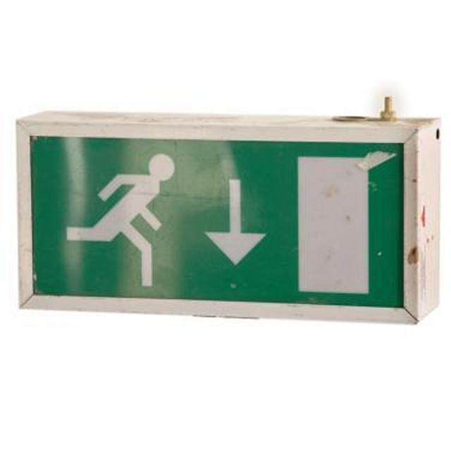 Emergency Exit Sign 140X310X75