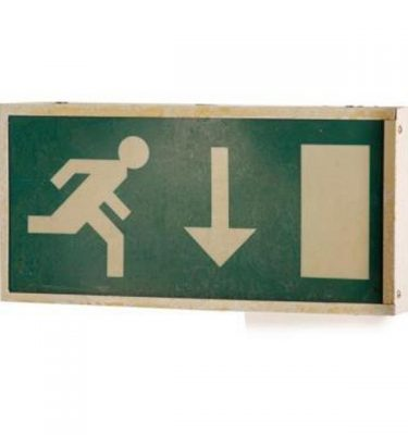 Emergency Exit Sign 190X395X60