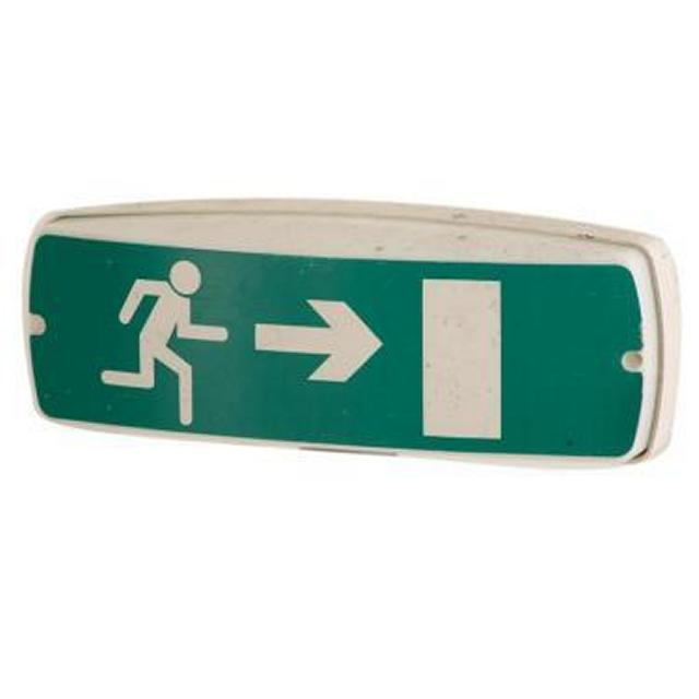Emergency Exit Sign 110X310X110