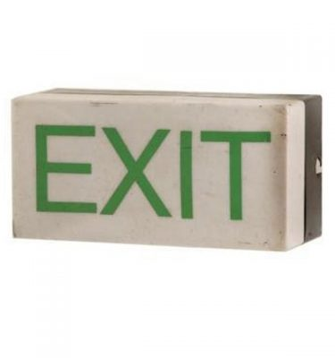 Emergency Exit Sign 125X260X115