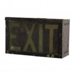 Exit Lightbox 240X385X155