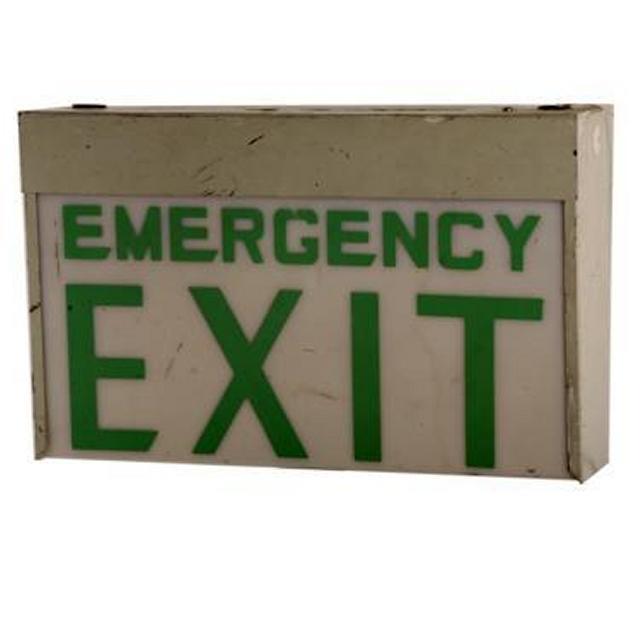 Emergency Exit Lightbox 265X420X140